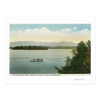 Three Mile Island View of the Ossipee Mts Postcard