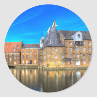 Three Mills Bow London Classic Round Sticker