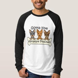 Three Miniature Pinschers Shirt