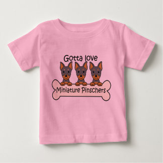 Three Miniature Pinschers T Shirt