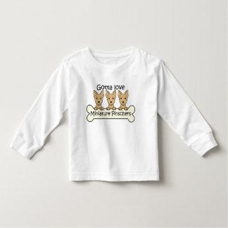 Three Miniature Pinschers Tee Shirt