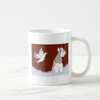 Three_Miniature_Schnauzers Classic White Coffee Mug