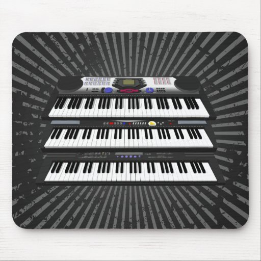 Three Modern Keyboards: Synthesizers: Mousepad