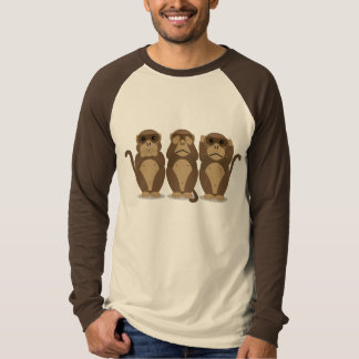 Three Monkeys T-Shirt