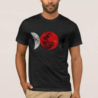 Three Moons of Magic (Crescent Shapes) Design 2 T-Shirt