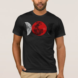 Three Moons of Magic (Crescent Shapes) T-Shirt