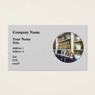 Three Mortar and Pestles in Pharmacy Business Card