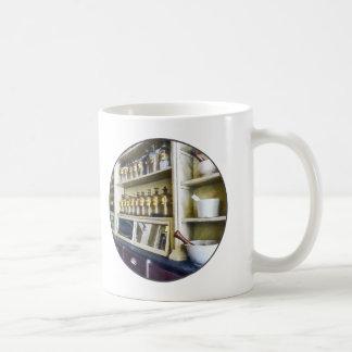 Three Mortar and Pestles in Pharmacy Coffee Mug