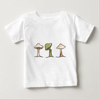 Three Mushrooms Baby T-Shirt