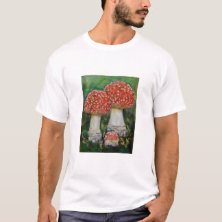 Three Mushrooms T-Shirt