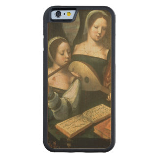 Three Musicians Carved® Maple iPhone 6 Bumper Case