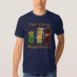 Three Muskebeers Funny Beer Pun T Shirt