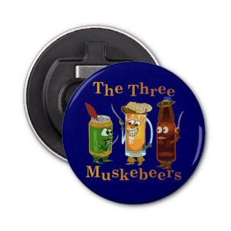 Three Muskebeers Funny Beer Pun