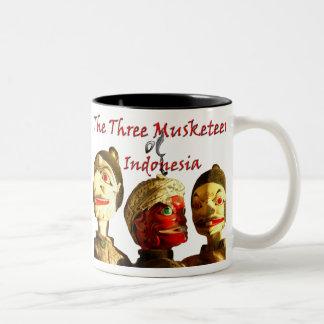 Three Musketeers Indonesia Two-Tone Coffee Mug