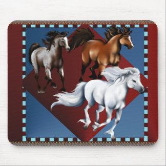 Three Mustangs Mousepad