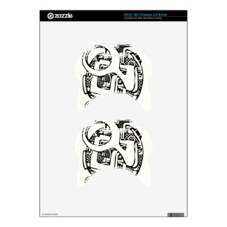 three O Xbox 360 Controller Decal