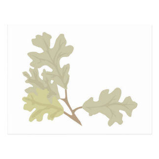 Three Oak Leaves Fall Wedding Autumn Weddings Postcard
