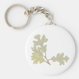 Three Oak Leaves Keychain