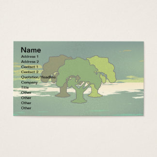 THREE OAK TREES BUSINESS CARD