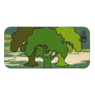 THREE OAK TREES CASE FOR iPhone SE/5/5s