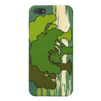 THREE OAK TREES COVER FOR iPhone SE/5/5s