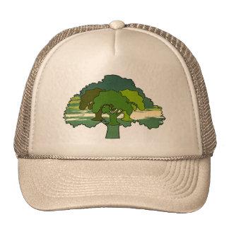 THREE OAK TREES MESH HAT