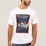 Three O'Clock in the Morning Songbook Cover T-Shirt