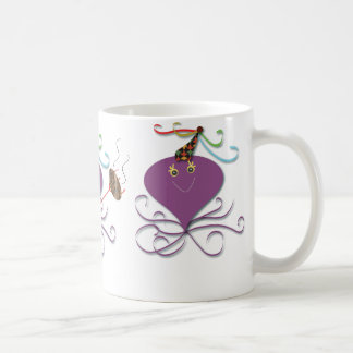 Three Octopuses: Let's Party Coffee Mug
