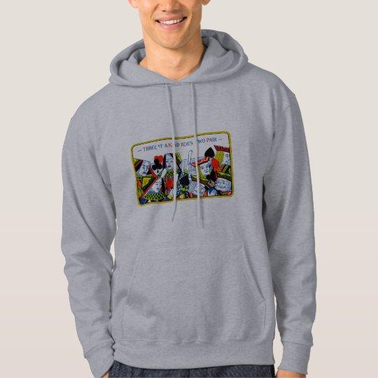 Three of a kind hoodie