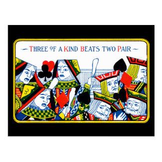 Three of a kind postcard