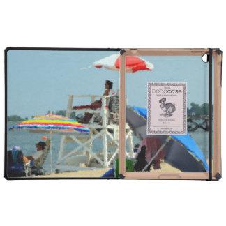 Three on the Beach iPad Folio Case