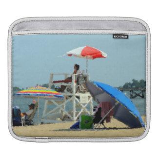 Three on the Beach iPad Sleeve