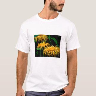 Three Orange Yellow Daisies T-Shirt