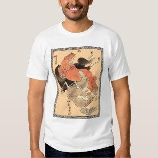 Three Oriental Horses T-shirt