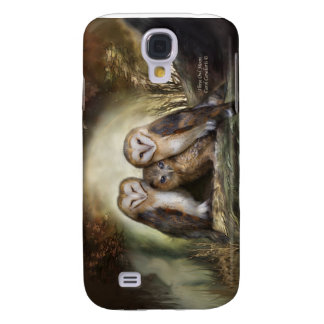 Three Owl Moon Art Case for iPhone 3 Galaxy S4 Cases