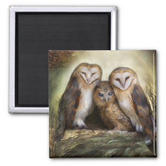 Three Owl Moon Magnet
