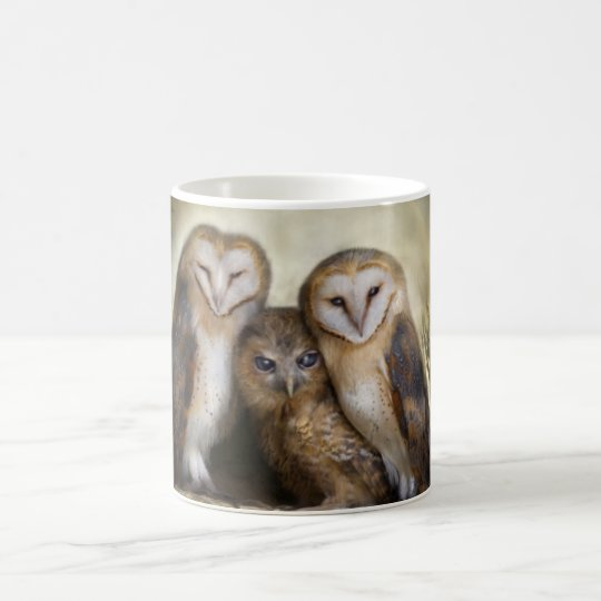 Three Owl Moon Mug