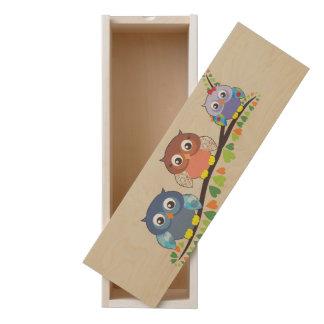 Three Owl Wine Box