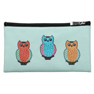 Three Owls Cosmetic Bag
