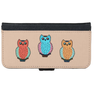 Three Owls iPhone 6/6s Wallet Case
