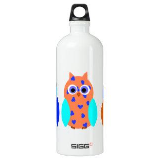 Three Owls on multiple SIGG Traveler 1.0L Water Bottle