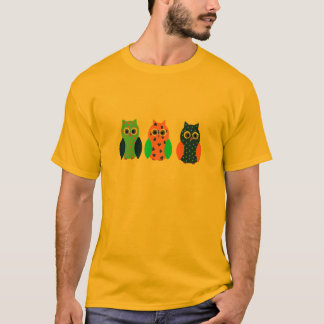 Three Owls on t shirts and multiple products