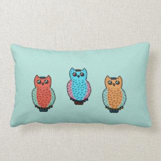 Three Owls Pillows