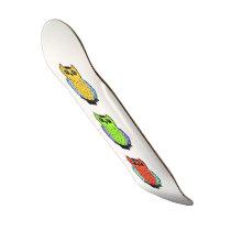 Three Owls Skateboard