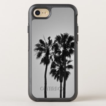 Beach Themed Three Palms OtterBox Symmetry iPhone 7 Case