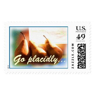 Three Pears DESIDERATA Stamp