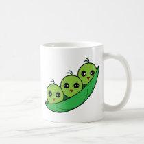 Three Peas in a Pod Coffee Mug