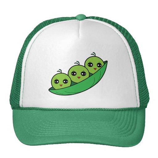 Three Peas in a Pod Hats