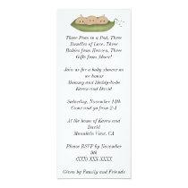 Three Peas in a Pod Invitation