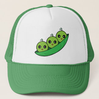 Three Peas in a Pod Trucker Hat